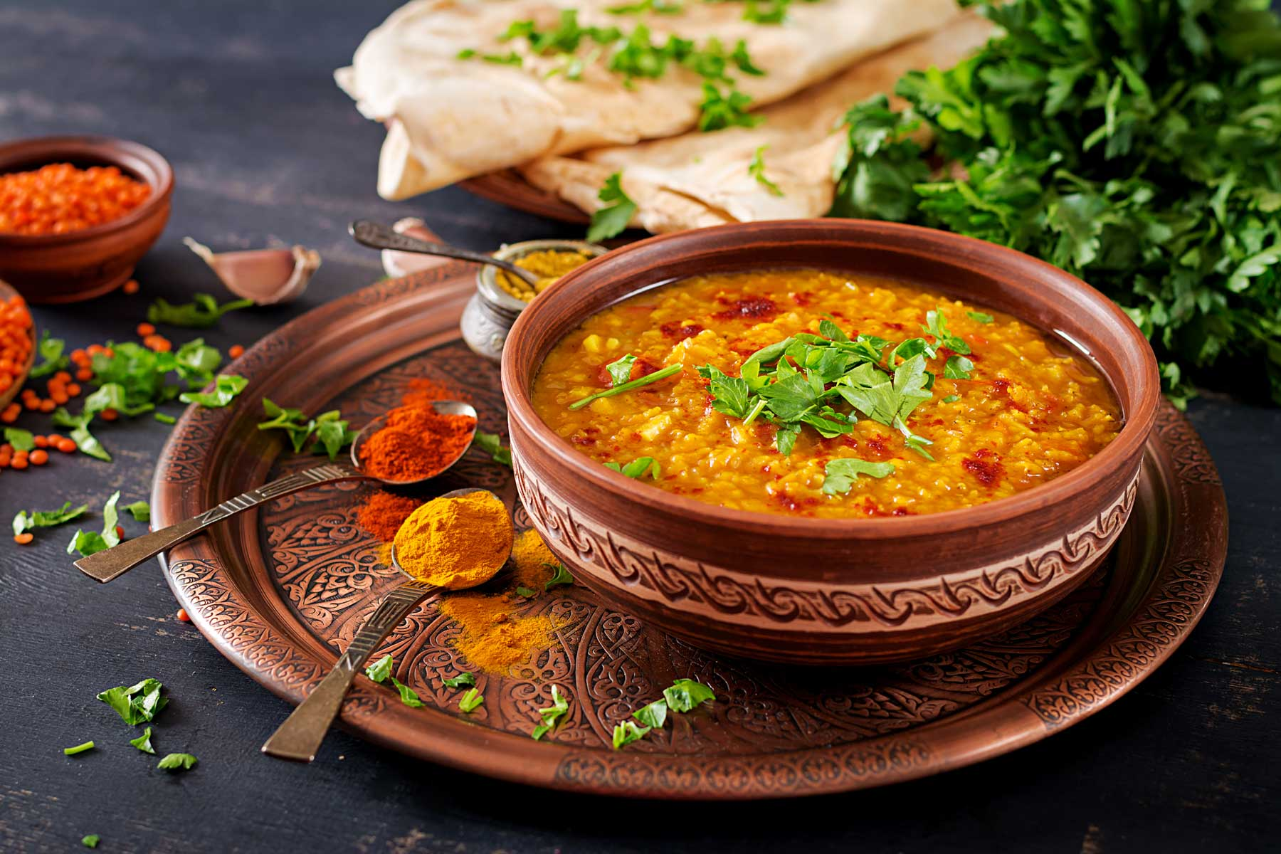 Sansar Food Cooked Dal
